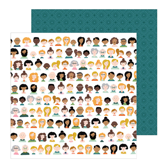 Pebbles Papers - Jen Hadfield - This Is Family - We Are Family - 2 Sheets