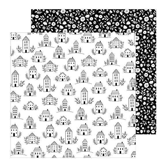Pebbles Papers - Jen Hadfield - This Is Family - Home Sweet Home - 2 Sheets