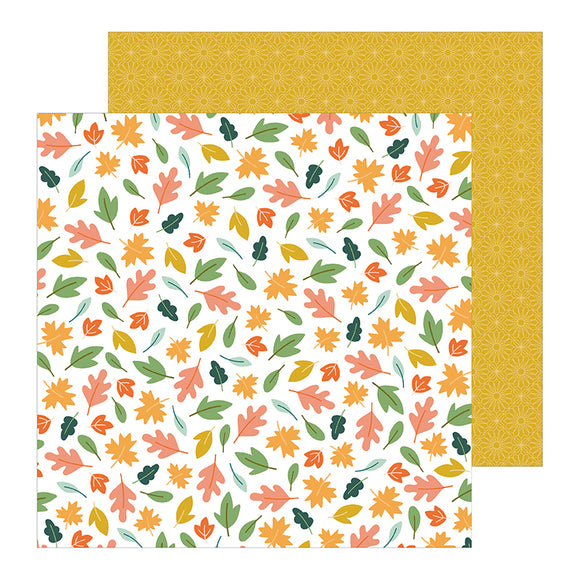 Pebbles Papers - Jen Hadfield - This Is Family - Scattered Leaves - 2 Sheets