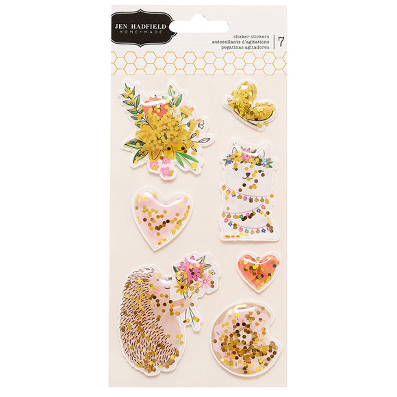 Pebbles Shaker Stickers - Jen Hadfield - Hey Hello