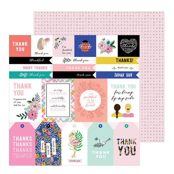 Pebbles Cut-Outs - Jen Hadfield - Hey Hello - Thank You Sentiments