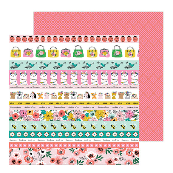 Pebbles Cut-Outs - Jen Hadfield - Hey Hello - Sentiment Strips