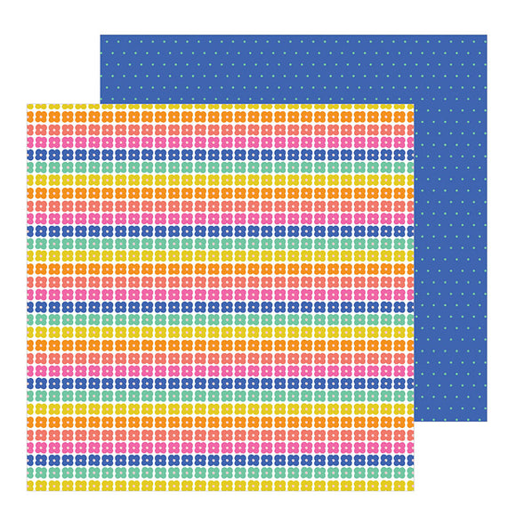 Pebbles Papers - Live Life Happy - Oh Happy Day - 2 Sheets