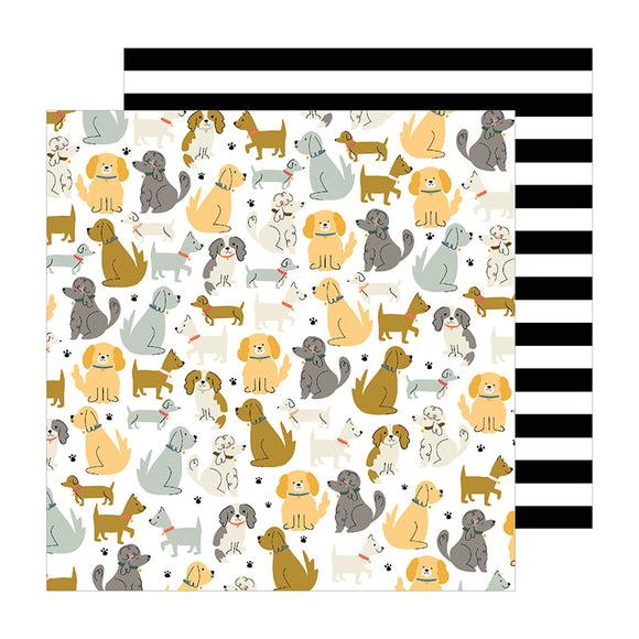 Pebbles Papers - Jen Hadfield - The Avenue - Puppy Park - 2 Sheets