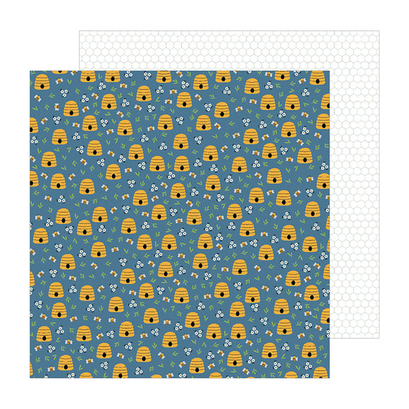 Pebbles Papers - Jen Hadfield - The Avenue - Honeycomb Ct. - 2 Sheets