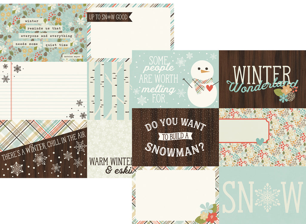 Scrapbooking For Less Simple Stories Papers Winter Wonderland