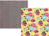 Simple Stories Papers - Love & Adore - Hello Beautiful - 2 Sheets