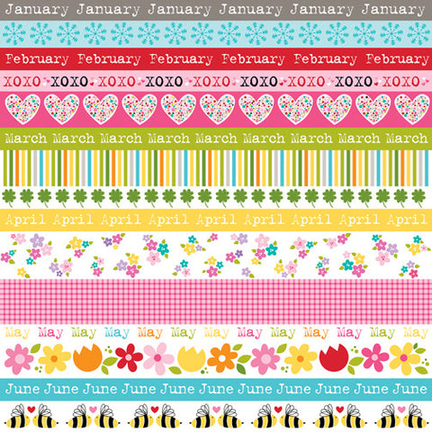 Bella Blvd Cut-Outs - Classic Calendars - Borders (A)