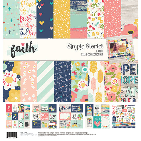 Simple Stories Collection Kit - Faith