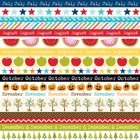 Bella Blvd Cut-Outs - Classic Calendars - Borders (B)
