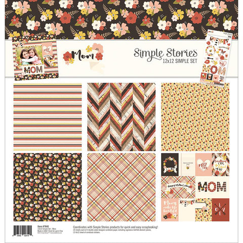 Simple Stories Collection Kit - Mom