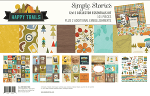 Simple Stories Emellishment/Collection Kit - Happy Trails