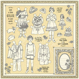 Graphic 45 Cut-Outs - Penny's Paper Doll Family - Color Your World