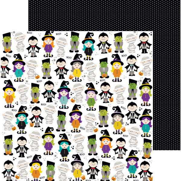 Bella Blvd Papers - Halloween Magic - Boo Buddies - 2 Sheets