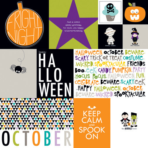 Bella Blvd Cut-Outs - Halloween Magic - Daily Details