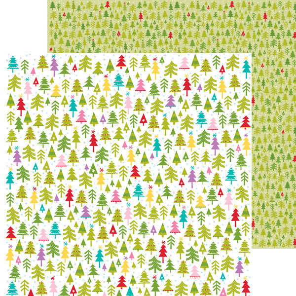Bella Blvd Papers - Christmas Cheer - Merry & Bright - 2 Sheets