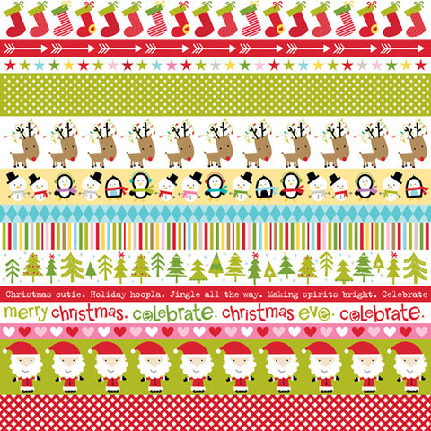 Bella Blvd Cut-Outs - Christmas Cheer - Borders
