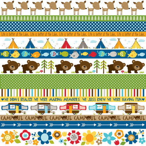 Bella Blvd Cut-Outs - Campout - Borders