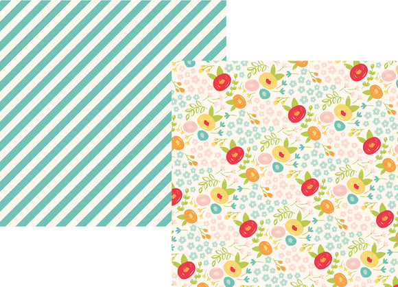 Simple Stories Papers - Summer Days - Sunny Days - 2 Sheets