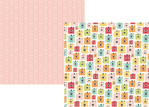 Simple Stories Papers - Summer Days - Summer Snapshots - 2 Sheets