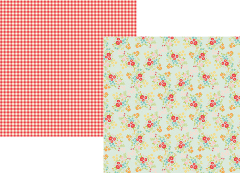 Simple Stories Papers - Summer Days - Soak Up the Sun - 2 Sheets