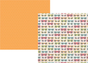 Simple Stories Papers - Summer Days - Gotta Wear Shades - 2 Sheets