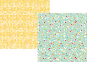 Simple Stories Papers - Summer Days - Lazy Days - 2 Sheets