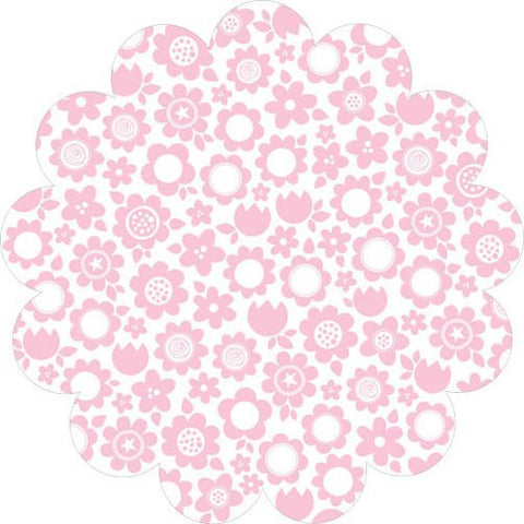 Bella Blvd Invisibles Die-Cut - Color Chaos - Pink Posies