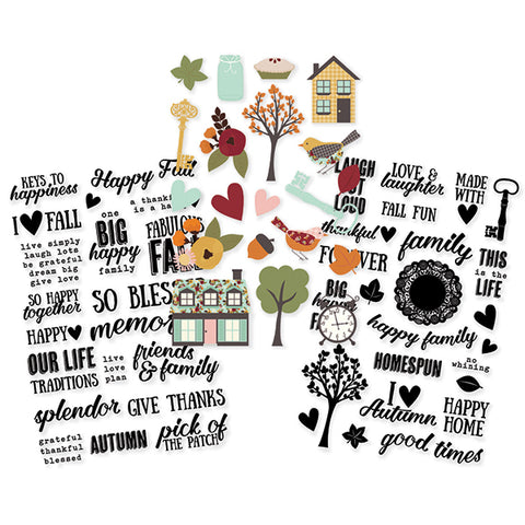 Simple Stories Sticker Pack - Vintage Blessings