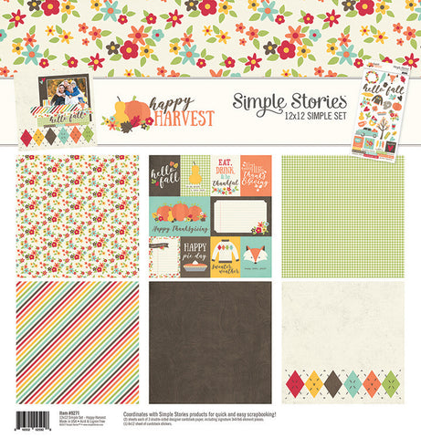 Simple Stories Collection Kit - Happy Harvest