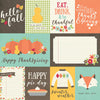 Simple Stories Cut-Outs - Happy Harvest - 3x4 & 4x6 Journaling Cards