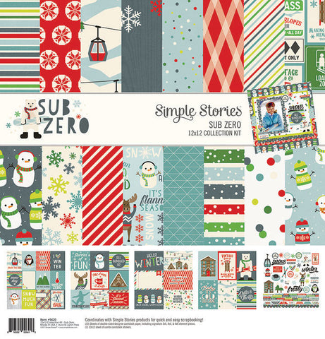 Simple Stories Collection Kit - Sub Zero