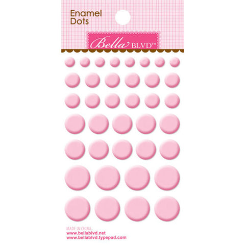 Bella Blvd Enamel Dots - Cotton Candy