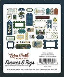 Echo Park Frames & Tags Die-Cuts - Adventure Awaits