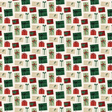 Echo Park Papers - A Cozy Christmas - Merry & Blessed - 2 Sheets