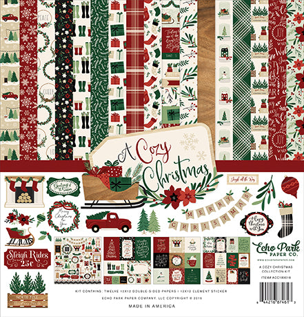 Echo Park Collection Kit - A Cozy Christmas