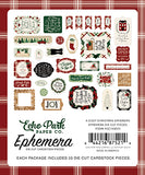 Echo Park Ephemera Die-Cuts - A Cozy Christmas