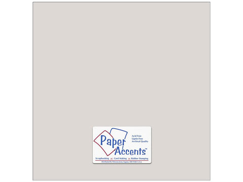 "Paper Accents™ Cardstock 12""x 12"" Smooth 74# Mystique - Two Sheets"