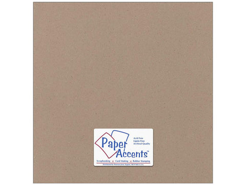 "Paper Accents™ Cardstock 12""x 12"" Recycled 80# Russet - Two Sheets"