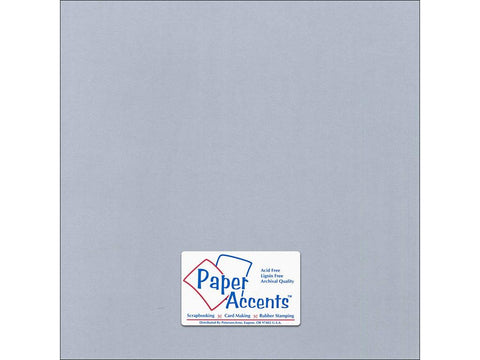 "Paper Accents™ Cardstock 12""x 12"" Canvas 80# Dovetail - Two Sheets"