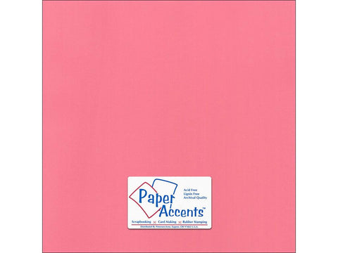 "Paper Accents™ Cardstock 12""x 12"" Canvas 80# Loveable - Two Sheets"