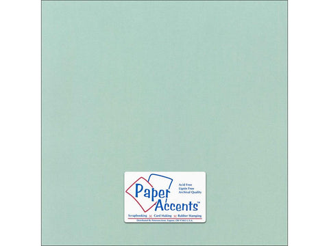"Paper Accents™ Cardstock 12""x 12"" Canvas 80# Aquatint - Two Sheets"