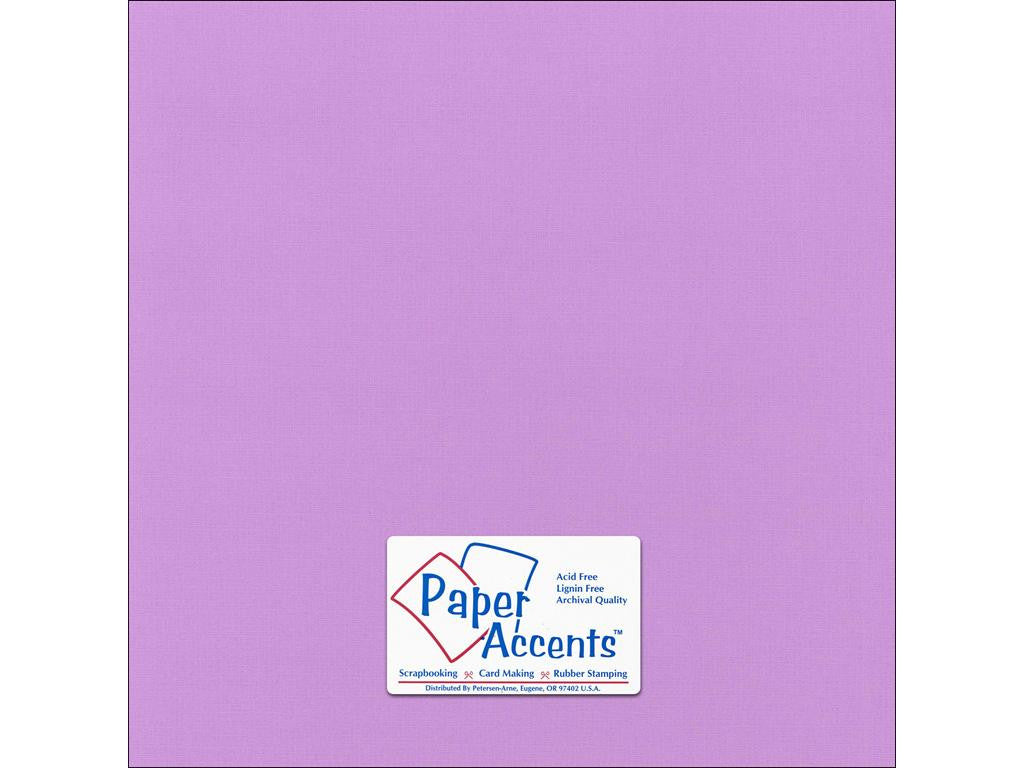 "Paper Accents™ Cardstock 12""x 12"" Canvas 80# Wildflower - Two Sheets"