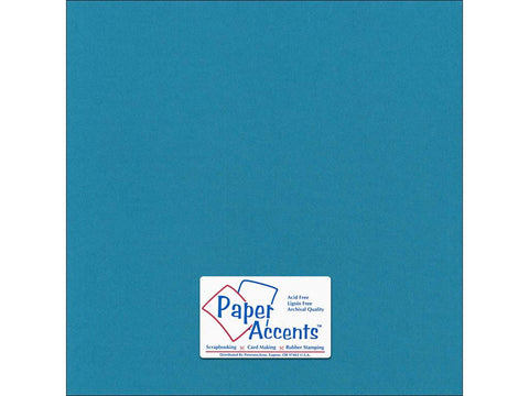 "Paper Accents™ Cardstock 12""x 12"" Canvas 80# Tropical Splash - Two Sheets"