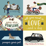 Echo Park Cut-Outs - A Dog's Tail - 4x6 Journaling Cards