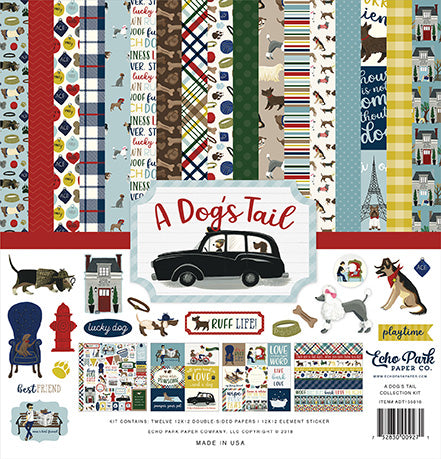Echo Park Collection Kit - A Dog's Tail