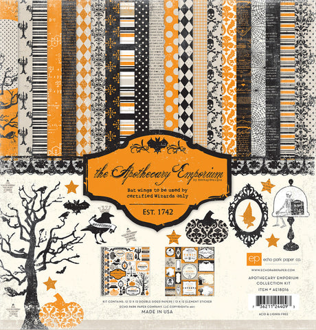 Echo Park Collection Kit - Apothecary Emporium