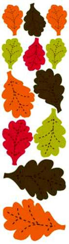 Reminisce Die-Cut Stickers - Autumn Forest - Leaves