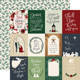 Echo Park Cut-Outs - Away In a Manger - 3x4 Journaling Cards