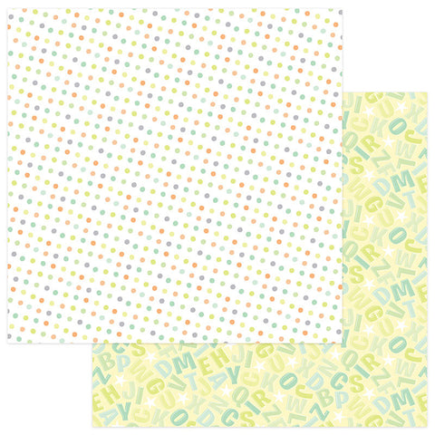 Photo Play Papers - About a Little Boy - Lullaby - 2 Sheets
